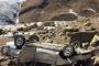 «Приора» сорвалась с обрыва в Акушинском районе. Погибли четверо