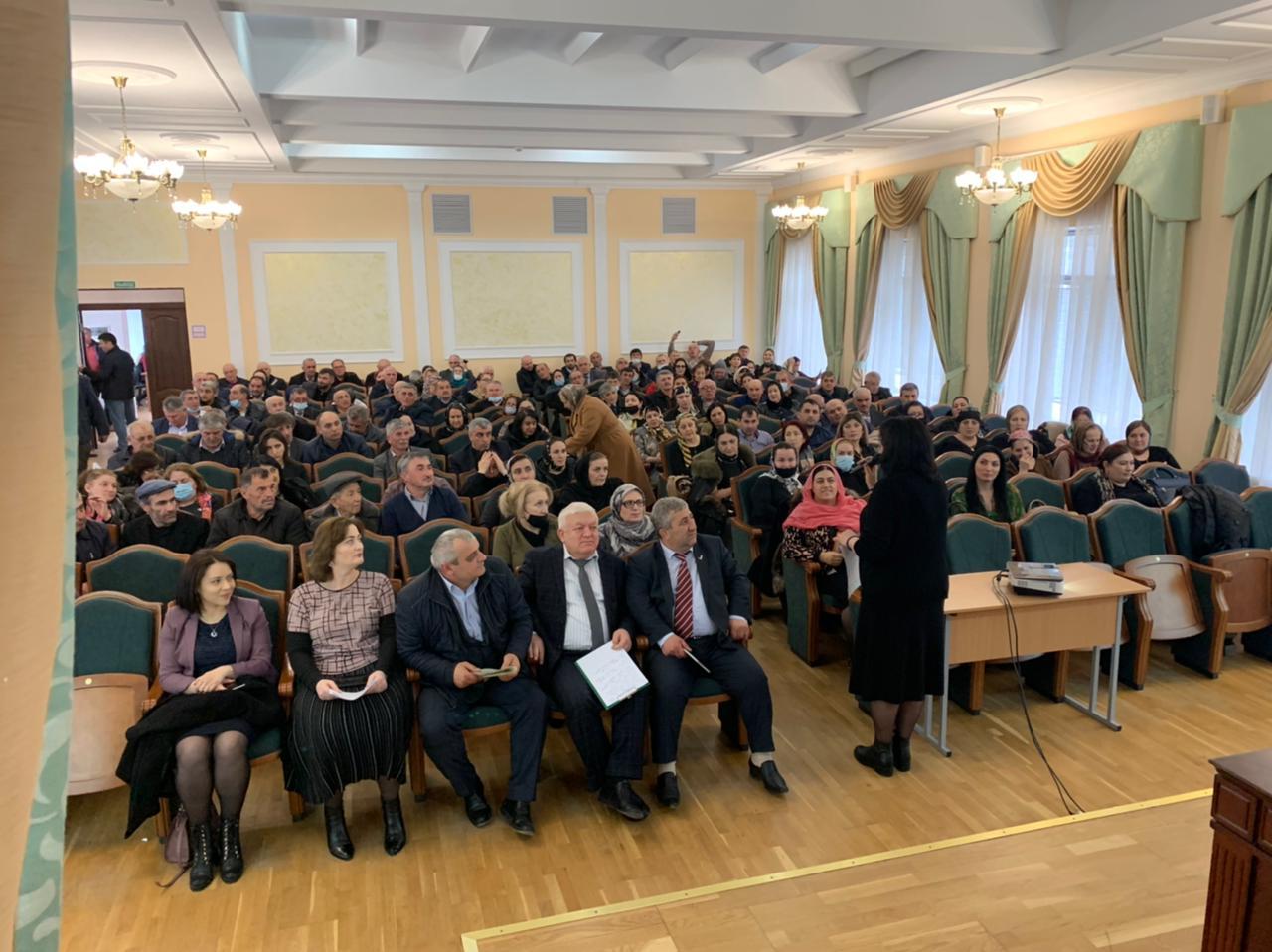 В ДИРО прошел семинар, посвященный реализации федерального проекта «500+» в Дагестане