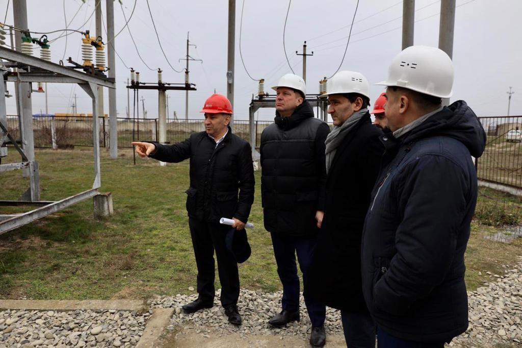 Гендиректор «Россетей» Андрей Рюмин прибыл с рабочим визитом в Дагестан