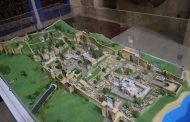 Макет с изображением Дербента представлен в Дербентском музее-заповеднике