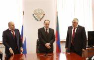 Коллективу минспорта Дагестана представили нового руководителя