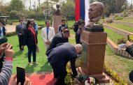 В Каире открыт бюст Расула Гамзатова (ФОТО)