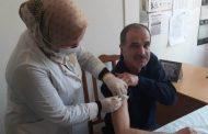 Работники здравоохранения Хасавюртовского района проходят второй этап вакцинации от COVID-19