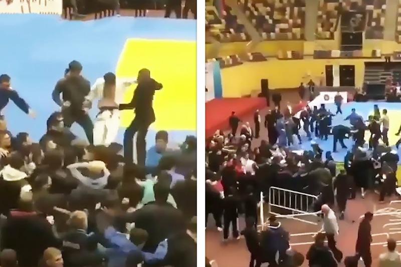 Зачинщики драки на турнире по дзюдо в Каспийске получили дисквалификацию