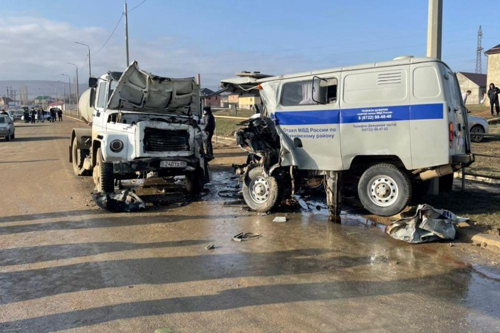 За два дня на дорогах Дагестана погибли пять человек
