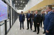 Михаил Мишустин и Сергей Меликов посетили строящийся терминал аэропорта Махачкалы