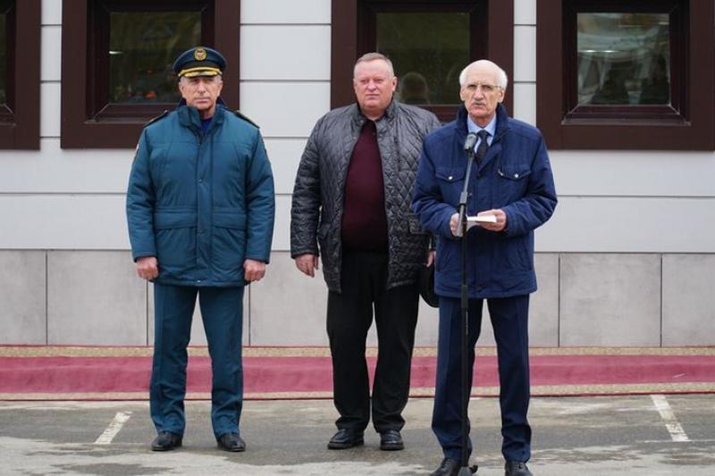 Новое здание межрайонной поисково-спасательной службы открыли в Каспийске