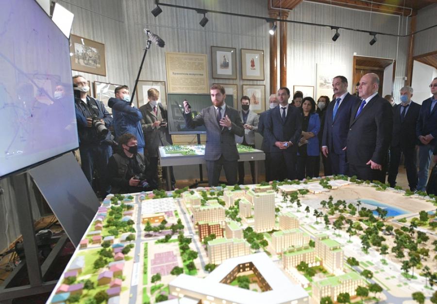 Михаил Мишустин ознакомился с планом комплексного развития Дербента