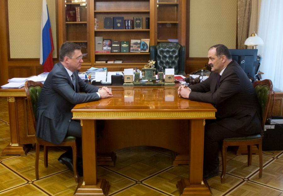 Сергей Меликов встретился с вице-премьером России Александром Новаком