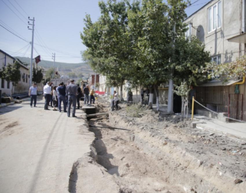В Дербенте завершили ремонт улицы Рзаева