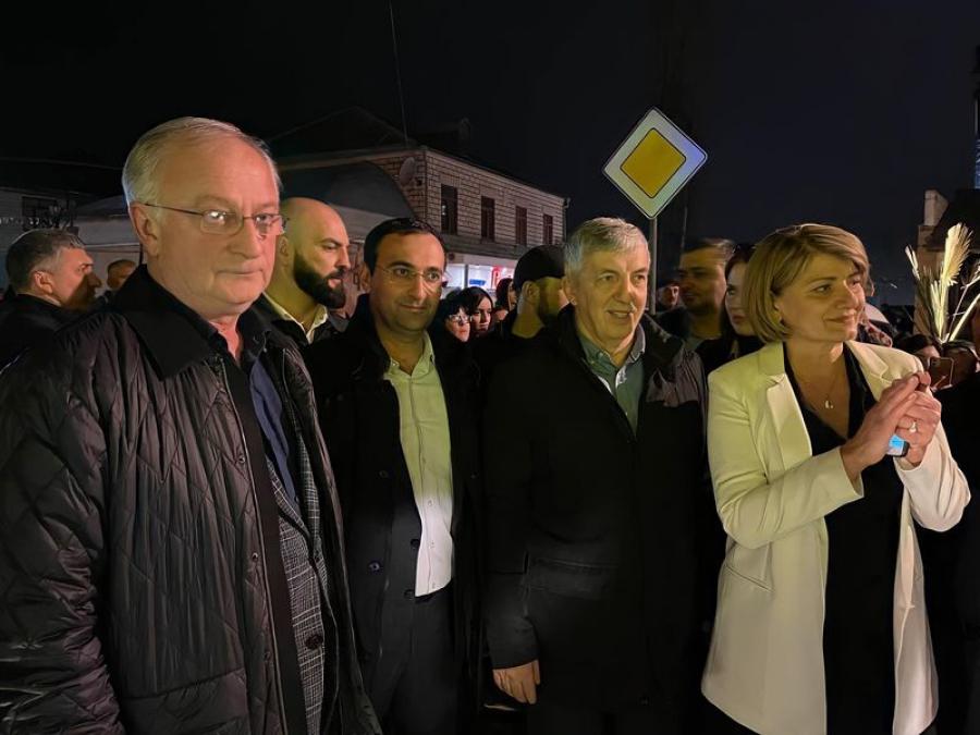 Абдулпатах Амирханов принял участие в открытии улицы Мамедбекова в Дербенте