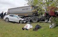 В столкновении трех машин в Кумторкалинском районе погибли два человека