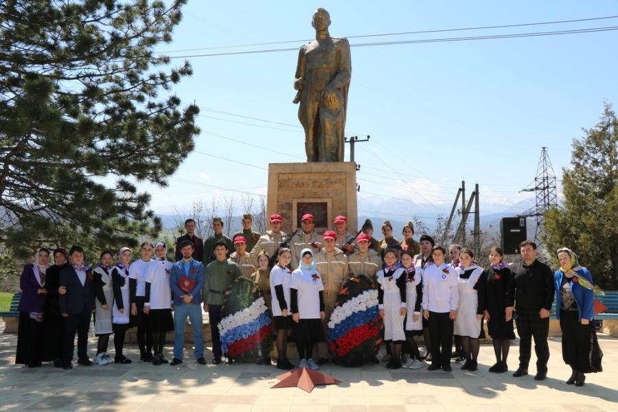 В Казбековском районе началась Всероссийская акция «Вахта памяти»