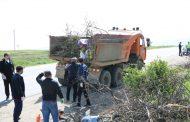 В Казбековском районе прошел День чистоты