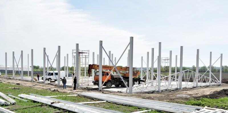 В Магарамкентском районе Дагестана ведется строительство плодохранилища на 1,5 тысячи тонн