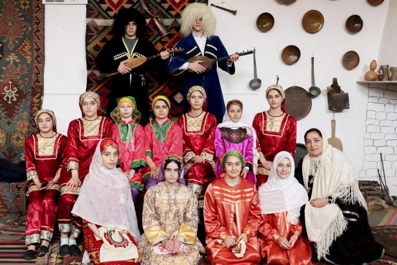 В Кайтагском районе прошла обрядовая постановка «Сказки бабушки Патимат»