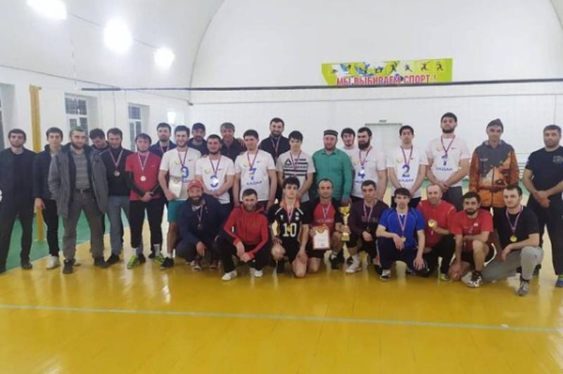 В селе Нижнее Чугли прошел межрайонный турнир по волейболу «Кубок дружбы»