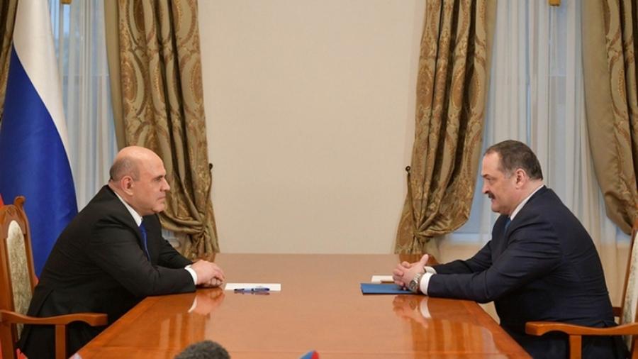Михаил Мишустин и Сергей Меликов обсудили вопросы социально-экономического развития республики