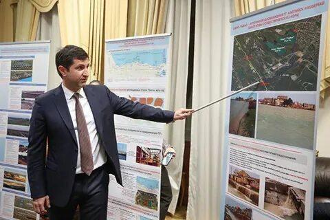 Батыр Эмеев презентовал проект строительства водовода с Чиркейского водохранилища