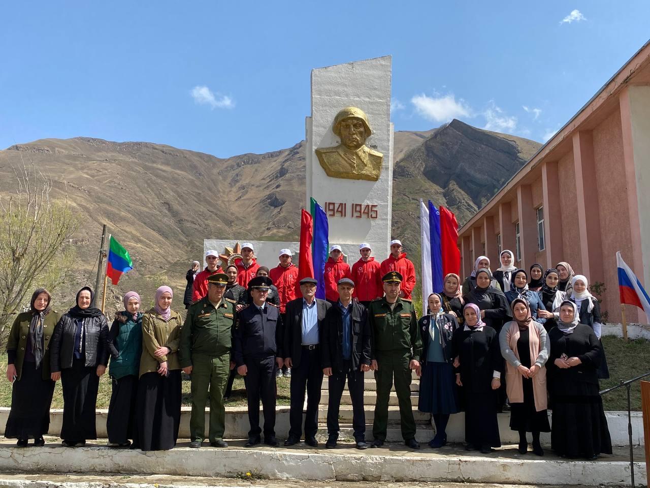 В городах и районах Дагестана стартовала акция «Вахта Памяти»