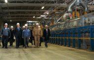 Сергей Меликов и Максим Решетников ознакомились с возможностями индустриального парка «Тюбе»