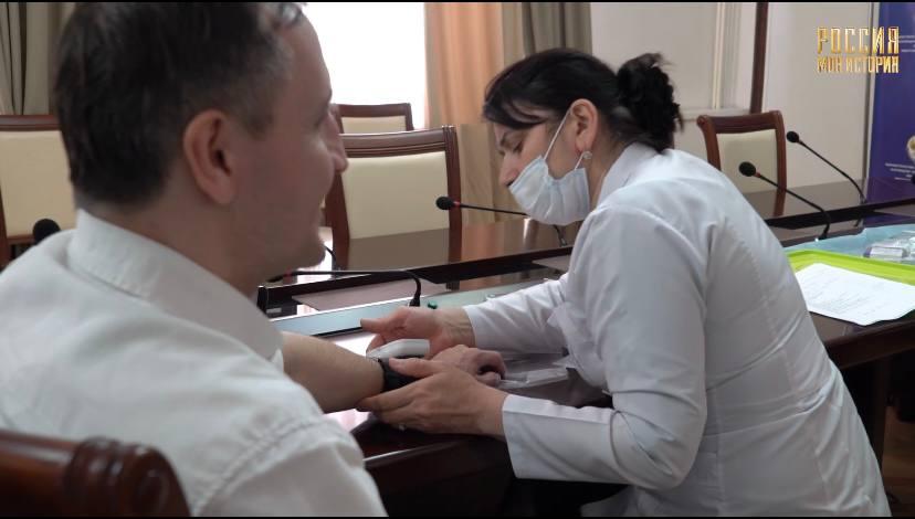 Сотрудники Исторического парка проходят вакцинацию от коронавируса