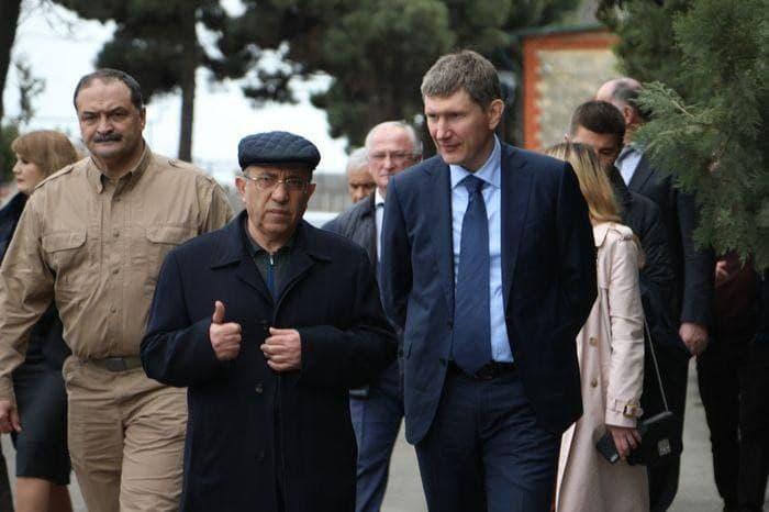 Максим Решетников посетил Дербент