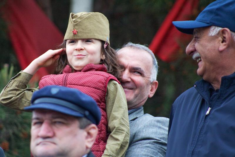 Военный парад – 2021 в Каспийске. Фоторепортаж