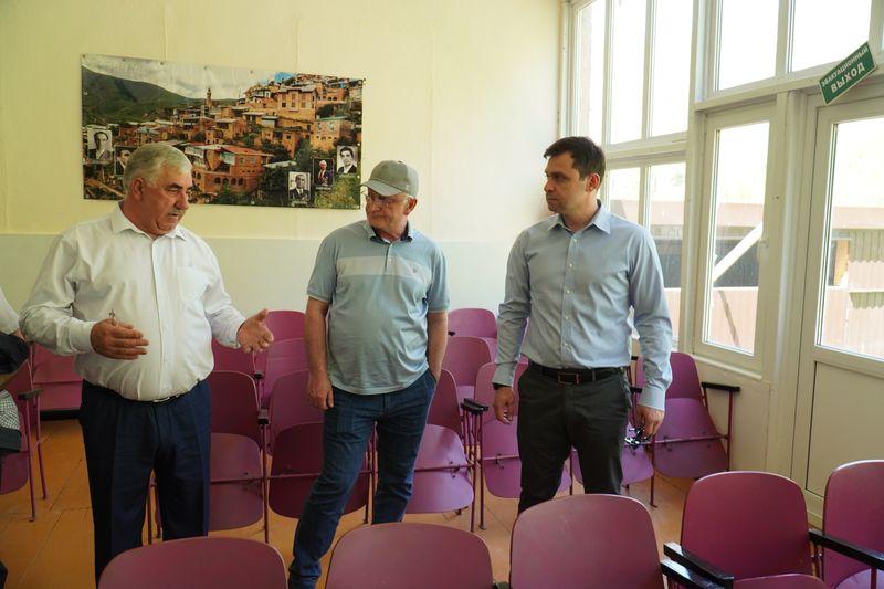 Правительство Дагестана проработает вопрос строительства соцобъектов в селе Чох