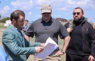 Сергей Меликов ознакомился с ходом строительства туркомплекса «Золотые Дюны» в Крайновке
