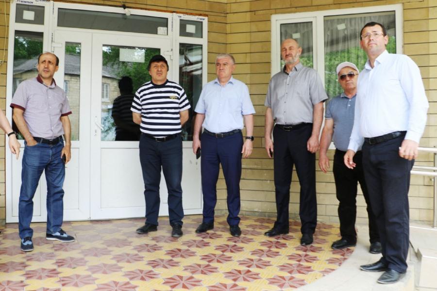 Кайтагский район посетил ректор ДГУ Муртазали Рабаданов