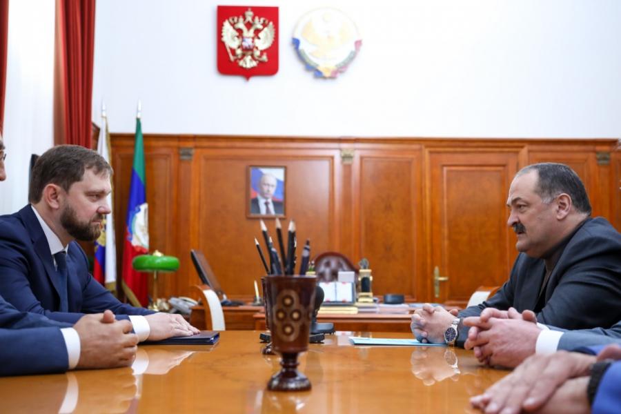 Сергей Меликов встретился с руководителем Федерального агентства по делам национальностей Игорем Бариновым