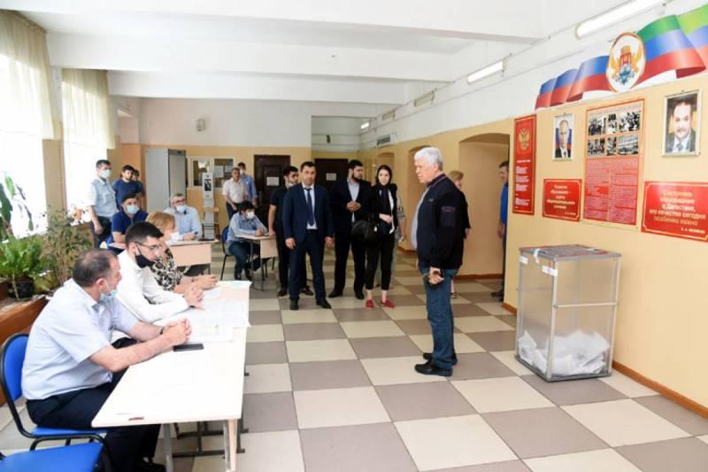 Хизри Шихсаидов принял участие в предварительном голосовании «Единой России»