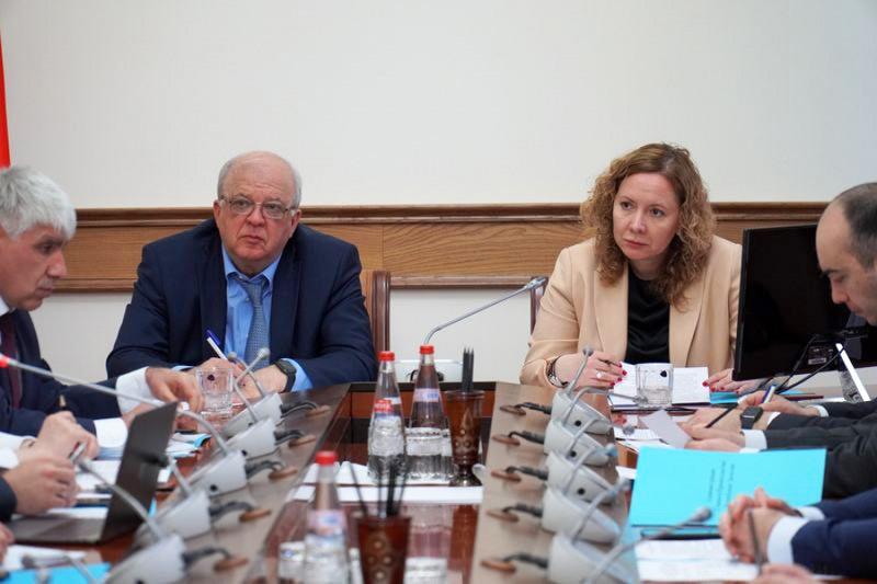 Татьяна Васильева провела совещание в Дагестане