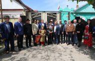 В Хасавюрте прошла акция «Парад у дома ветерана»
