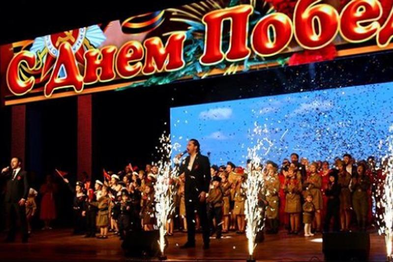 Праздничный концерт состоялся 9 мая в столице республики