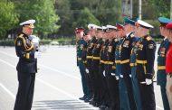 ВКаспийске проходит генеральная репетиция парада коДню Победы