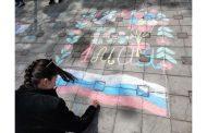 В Махачкале прошла акция «Рисунок на асфальте»