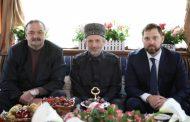 Сергей Меликов и Игорь Баринов поздравили муфтия Дагестана с праздником Ураза-Байрам