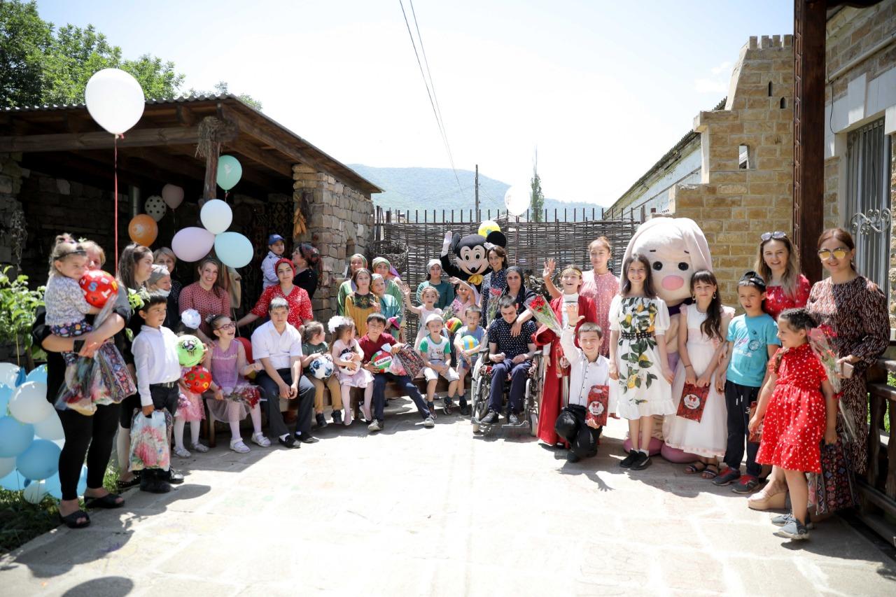 Благотворительный праздник для детей-инвалидов прошел в Кайтагском районе
