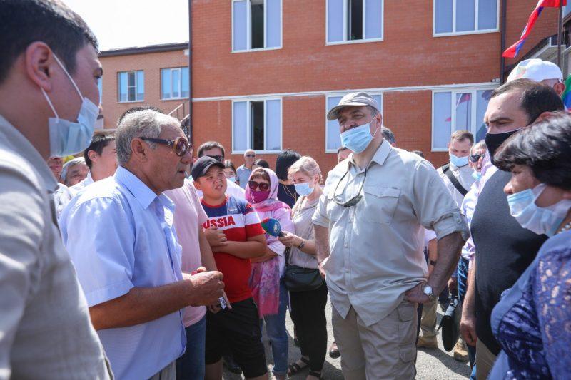 Сергей Меликов дал поручения по развитию Ногайского района