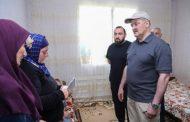 Семья Курамагомедовых из Кизлярского района выражает благодарность руководителю Дагестана