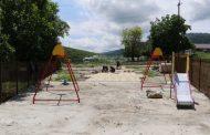 В трех селах Кайтагского района ремонтируют общественные территории
