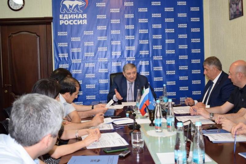 В Махачкале прошло заседание президиума регионального политсовета «Единой России»