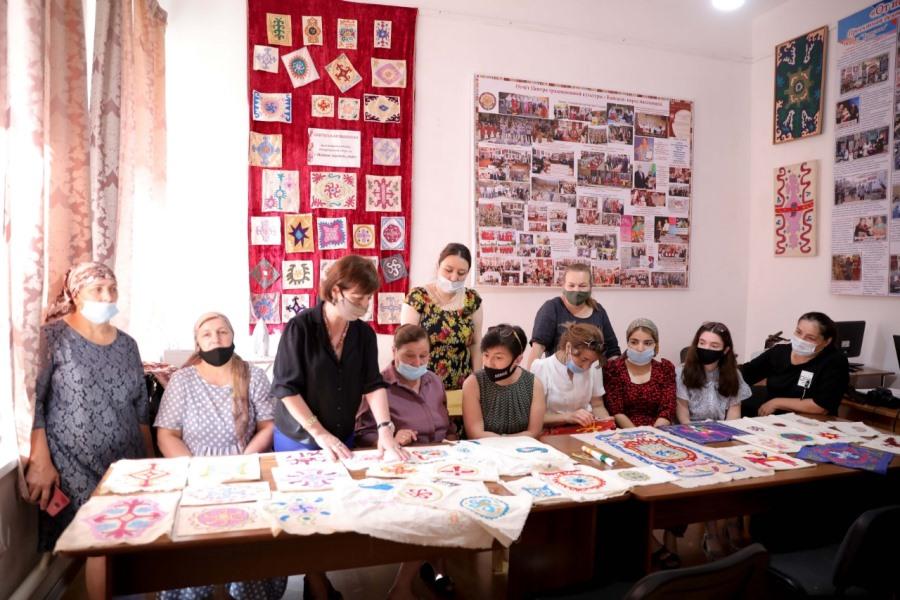 Кайтагский район посетили представители Благотворительного фонда Тимченко