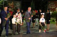 Абдулпатах Амирханов принял участие в акции «Свеча памяти»