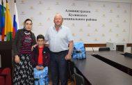 Глава Кулинского района поздравил сирот с Международным днем защиты детей