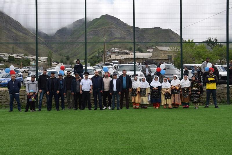 В Кулинском районе открыли мини-футбольное поле