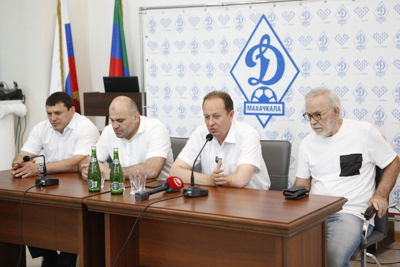 Представители футбольного сообщества Дагестана поддержали возрождение «Динамо»