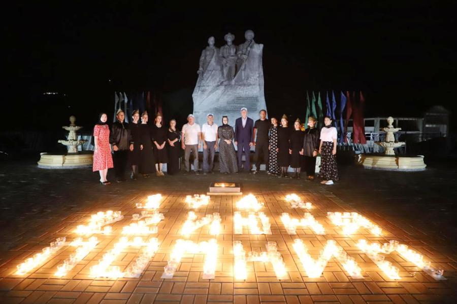 Ботлихский район присоединился к международной акции «Свеча памяти»